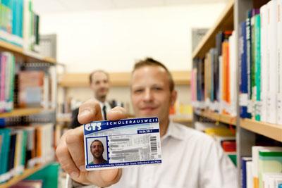 Schülerausweis der GTS Schule Offenbach