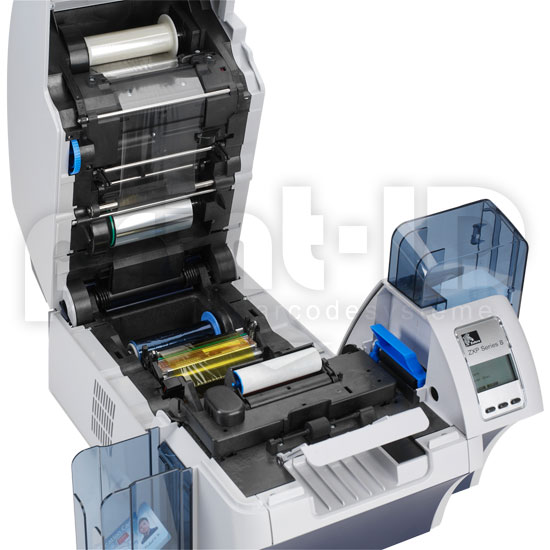 zebra zxp series 8 g nstig kaufen kartendrucker plastikkarten drucker bei print id. Black Bedroom Furniture Sets. Home Design Ideas
